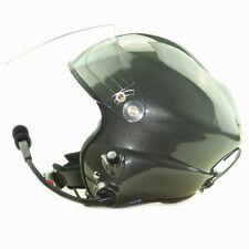 PPG helmet double PTT control paramotor helmet grey color flying sport helmet