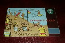 "2005 MEGA Rare ""SURF RESCUE"" AUSTRALIA BEACH Starbucks  Card"
