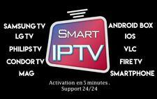Téléviseur IP 12 mois | SMART TV & ANDROID & iOS & Firestick & MAG