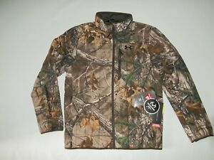 UNDER ARMOUR Realtree Xtra CAMO STEALTH Insulated HUNTING JACKET Mens MEDIUM NEW