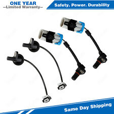 4x Abs Wheel Sd Sensor Front Rear For 2007 2009 Chevrolet Equinox 3 4l