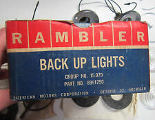 1964 AMC Rambler American NOS automatic trans reverse backup lamp light kit