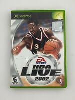 NBA Live 2002 - Original Xbox Game - Complete & Tested