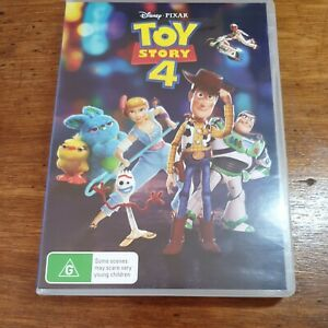 Toy Story 4  DVD R4 LIKE NEW FREE POST