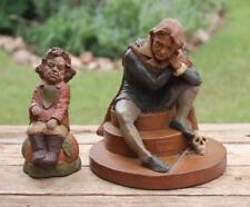 "Two Retired Tom Clark Sculptures 1987 ""Beethoven"" #25 & 1983 ""Hamlet"" #8 Signed"