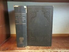 Old NEW YORK AGRICULTURAL SOCIETY Book 1852 FARMING CATTLE GARDENING CROPS HORSE