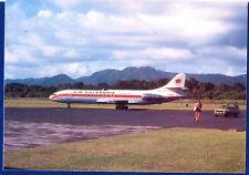 Air Caledonie International New Caledonia SE210 F-GEPC Postcard