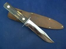 Vintage Utica Sportsman Hunting Knife with Sheath