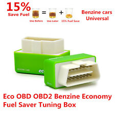 Eco OBD2 Plug & Drive Fuel Economy Chip Tuning Box for Petrol Cars