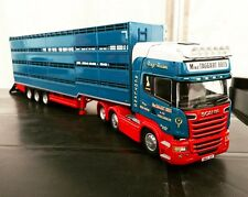Tekno MacTaggart Bros Scania R-Series with Houghton Parkhouse Livestock NEW!!