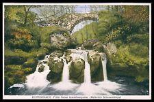 Ak Luxemburgo Luxembourg verdadero tras muy vieja Postal Old Postcard cq56