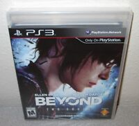BEYOND TWO SOULS Sealed NEW PlayStation 3 Quantic Dream Ellen Page Willem Dafoe