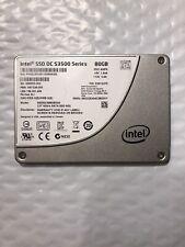 Intel 80GB SSD DC S3500 Series SSDSC2BB080G4 2.5 6Gb/s Sata