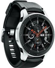 Samsung Galaxy Watch SM-R800 46mm Silver Case Classic Onyx Black