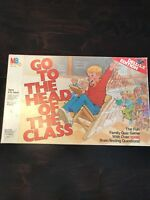 Go To The Head Of The Class - Deluxe Edition 1986 Collectors Board Game COMPLETE