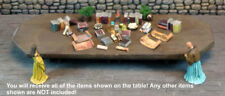 Books, Scrolls, Bottles and Bowls 2  -  Works with Dwarven Forge & DnD D&D