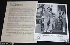 VIC CHESNUTT/MR & MRS KENEIPP 'MERRIMENT' 2000 PRESS KIT--PHOTO