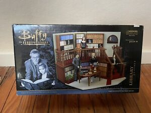 Buffy The Vampire Slayer Library Playset Designed By Plan b - MIB/Complete