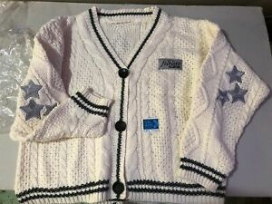 TAYLOR SWIFT Folklore The Cardigan Sweater ORIGINAL / OFFICIAL XS/SM NEW UNWORN