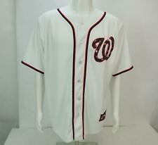 Majestic Washington National Bryce Harper #34 Men's Short Sleeve White Jersey
