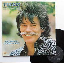 """Vinyle 33T Jean Ferrat """"Premières chansons - nouvel enregistrement"""""""