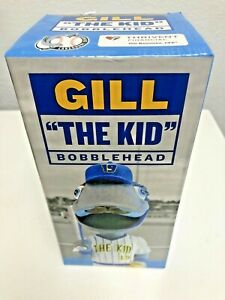 "Northwoods League Rare New 2019 CHINOOKS GILL ""The Kid"" SGA MASCOT BOBBLEHEAD"