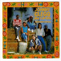 """Johnny CLEGG And SAVUKA Vinyl 45 tours 7"""" ASIMBONANGA - BERLIN WALL -EMI 2017377"""