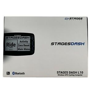 Stages Dash L10 Computer With Garmin Adapter