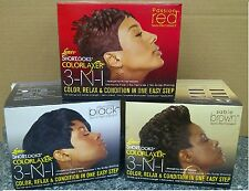Luster's Shortlooks ColorLaxer 3-N-1 Hair Relaxer Kit Colour, Relax & Condition