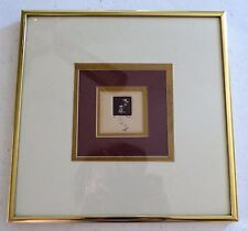 Artist Proof by Bloom Matted, Framed Floral print  Cream/Mauve colors