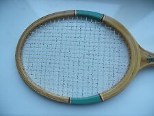 Vintage Wooden Ussr Tennis Racquet Racket Ukraine (Original Strings)