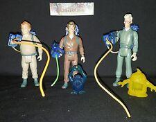 1984 Ghostbusters vintage figures w/ proton packs