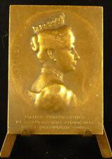 Médaille louise Reine du Danemark Exposition française Art décoratif Copenhague