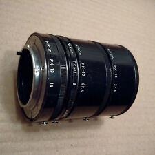 Nikon L37c & B+W Filters + Auto Extension Rings + FM2 Carry Case