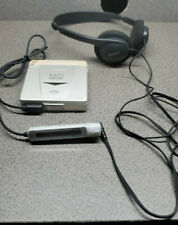 Sony Md Walkman Player - Silver Mz-E33 with Rm-Mze33 remote and Sony headphones