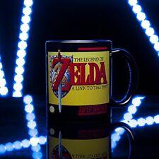 THE LEGEND OF ZELDA BLACK YELLOW RETRO NINTENDO COFFEE MUG