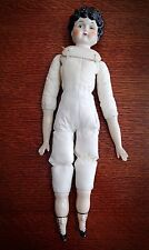 """17"""" Vintage China Head Arms and Feet Doll Marked No. 5"""