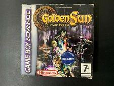 GOLDEN SUN 2 : L'AGE PERDU - GBA / GAME BOY ADVANCE - NINTENDO - COMPLET FR