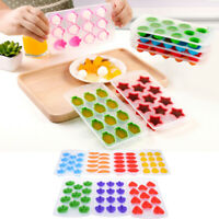 Silicone Ice Cube Jelly Chocolate Fruit Cake DIY Mould Mold Tray PuddingBB