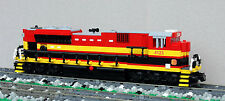 Custom Lego Kansas City Southern SD70ACe train engine KCS