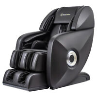 Full-Body 3D SL-Track Deep Zero-Gravity Music Real Relax Massage Chair - Black