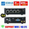 Intel Atom® E3845 4 LAN 3G/4G 4G RAM/128G SSD Fanless pfSense Firewall AES-NI