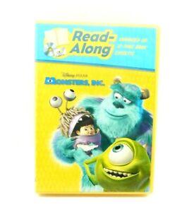 Disney Pixar Monsters Inc. Read-Along CD Book & Cassette