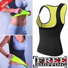 Women Sauna Sweat Slimming Trainer Vest Neoprene Yoga Thermal Body Shaper Gym
