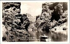Rppc Canyon Lake, Az Apache Trail Reached by Southern Pacific 1931 Postcard