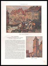 Doc.Ancien HANSI ALSACE (4 pages) 1924 -1j