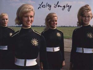 LESLEY LANGLEY 007 JAMES BOND AUTHENTIC AUTOGRAPH GOLDFINGER RARITY GIRL!