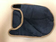 Dog Jacket Blue Micro-Suede with White Sherpa Lining XS New