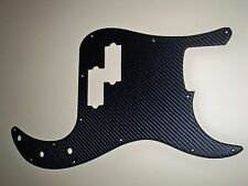 CARBON FIBER STYLE FAUX LEATHER FOR USA/MEXICO FENDER STANDARD PRECISION BASS