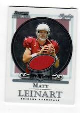 2006 Bowman Sterling #BS-ML Matt Leinart Cardinals Game Used Jersey Rookie Card